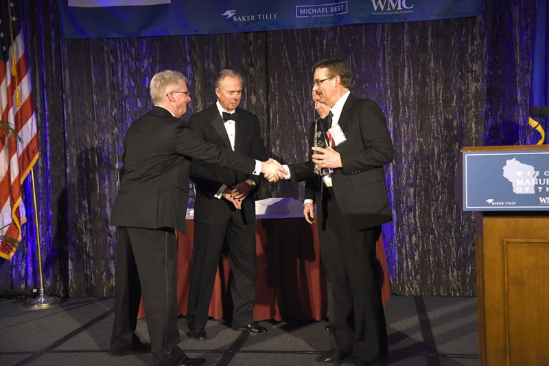 Spectrum Manufacturer Of The Year - acceptance
