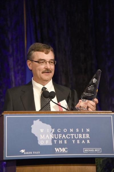 Spectrum Manufacturer Of The Year - acceptance speech
