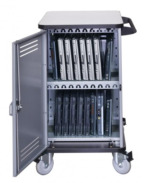 Notebook Management Spectrum Pro20 Cart - inside