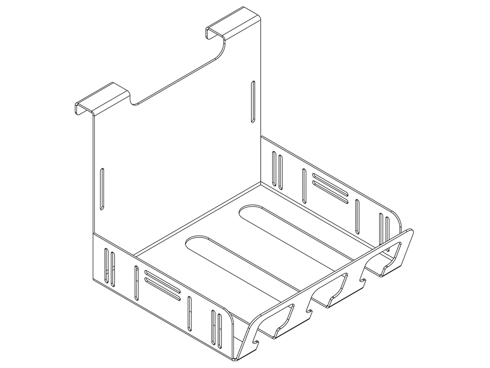 QuickBrick Wire Management Trays for IT32 (Kit)