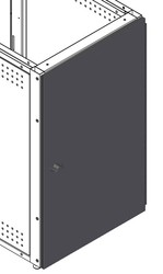 "Solid Locking Door for Equipment Rack (Freedom One eLift-36"", IMC-29""/36"")"