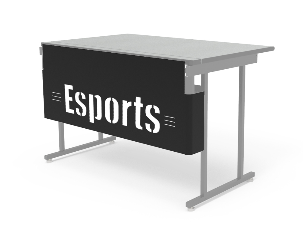 Esports Modesty Logo Panel with White Backer