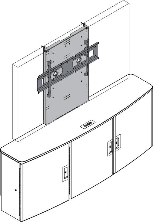 Display Stand (Single Monitor)