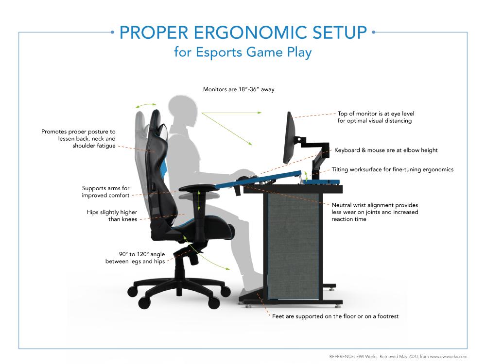 Esports Shadow-Bank Desk