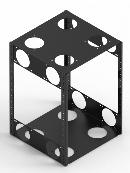 Rack Cubes, Rack Cabinets, Rack Rails
