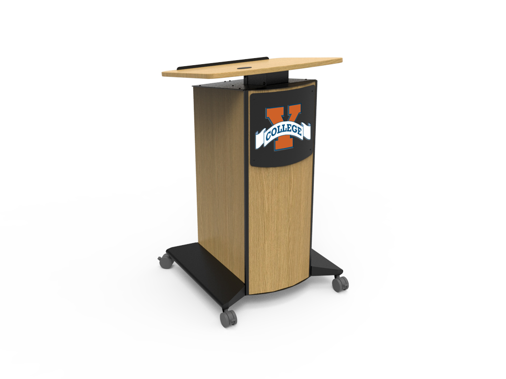 Adjustable Height SLIM Lectern