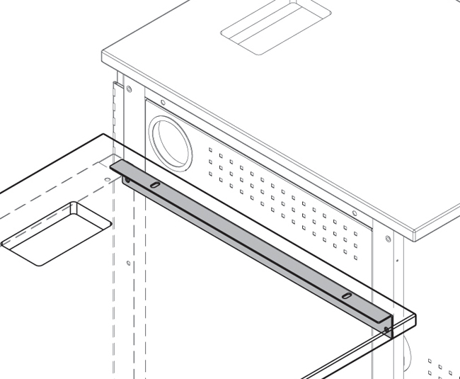 Stepped-Height Bracket for IMC