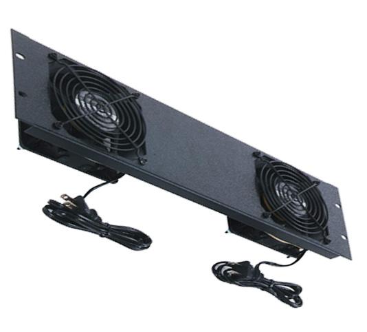 Rack-mount double fan 3RU