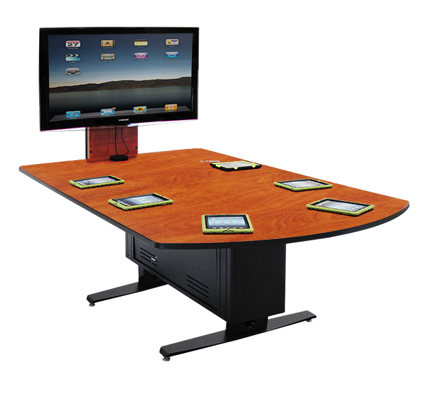 Invision Access Collaboration Table with Version 1 eLift