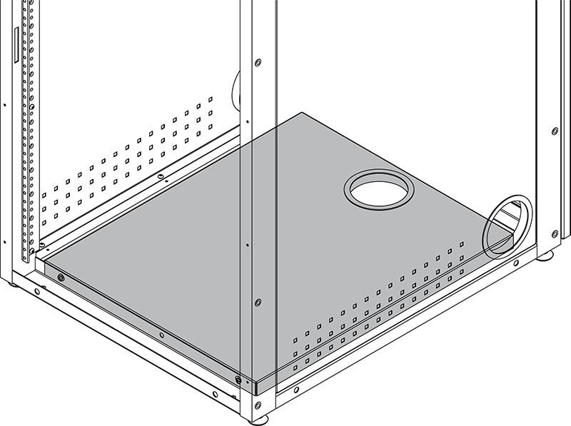 Bottom Shelf for IMC Equipment Rack