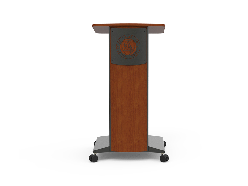 Slim Lectern Fixed Height Lecterns Spectrum Industries
