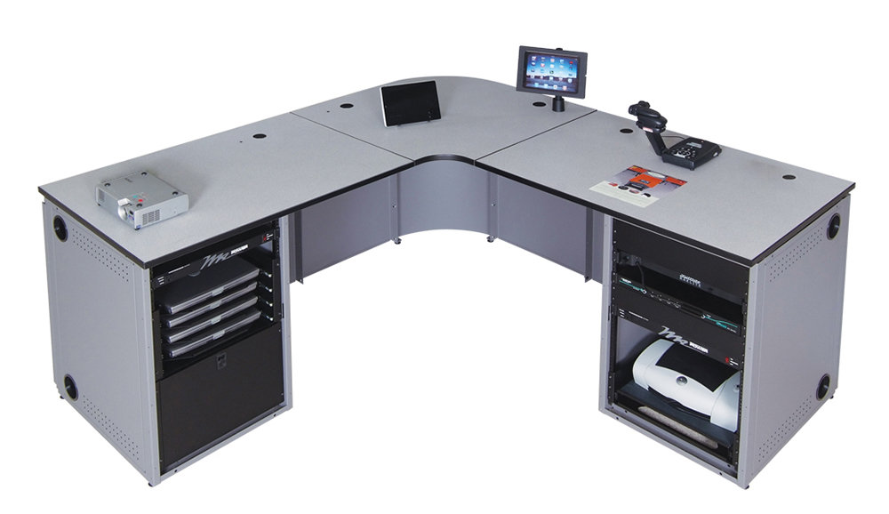 Instructor Media Console (standard configurations)