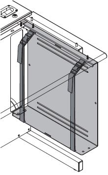 "CPU Sling for 30""D Flex InSight Desks"