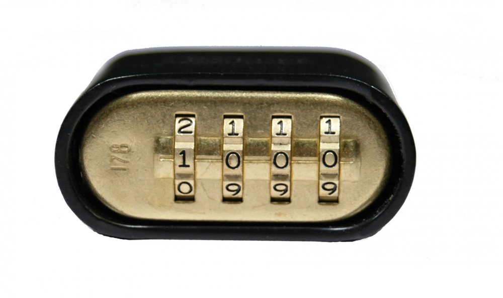 Reprogrammable 4-Digit Combination Lock