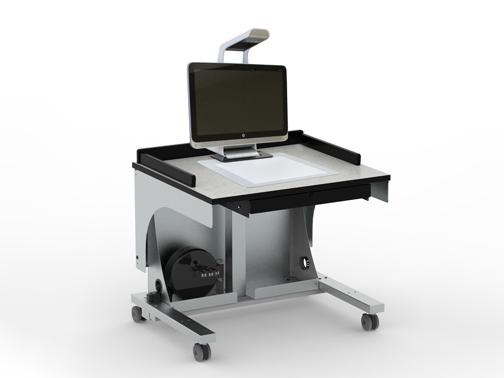 Freedom One Sit-To-Stand Workstation for Sprout Pro by HP