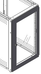 "Clear Acrylic Locking Door for Equipment Rack (Freedom One eLift-36"", IMC-29""/36"")"