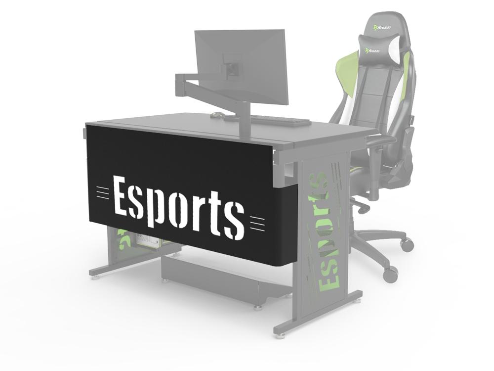 Esports Modesty Logo Panel with White Backer