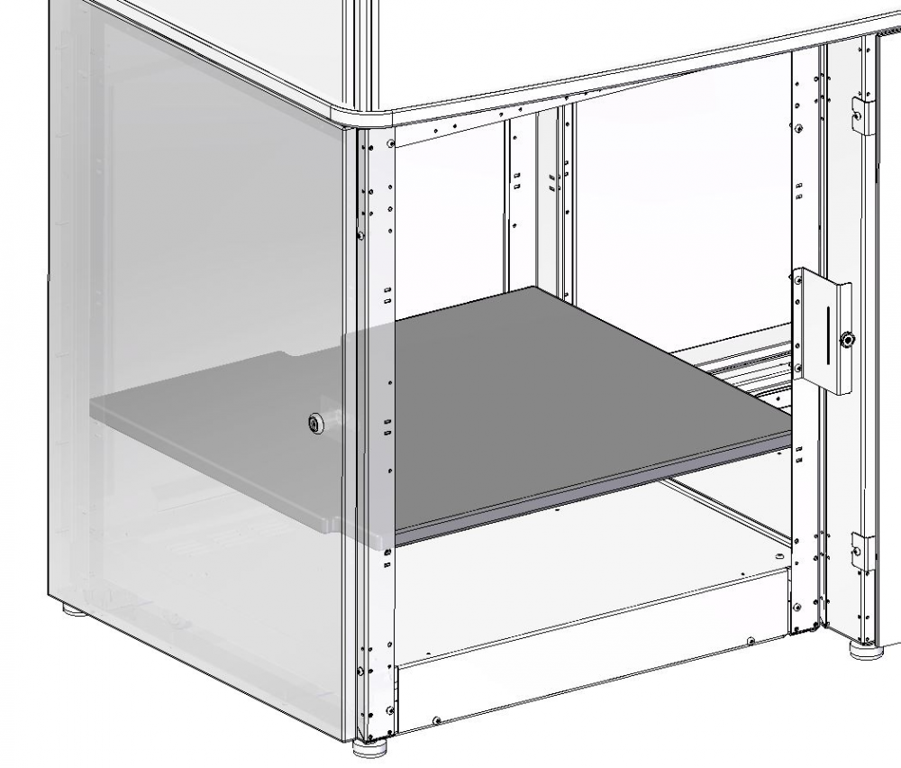 Shelf for AV Credenza