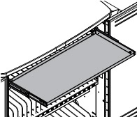 Pull-out tray for InTouch Cart