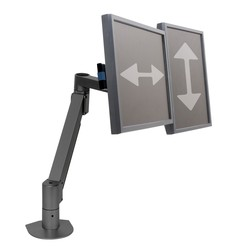 Dual Flat Panel Monitor Arm