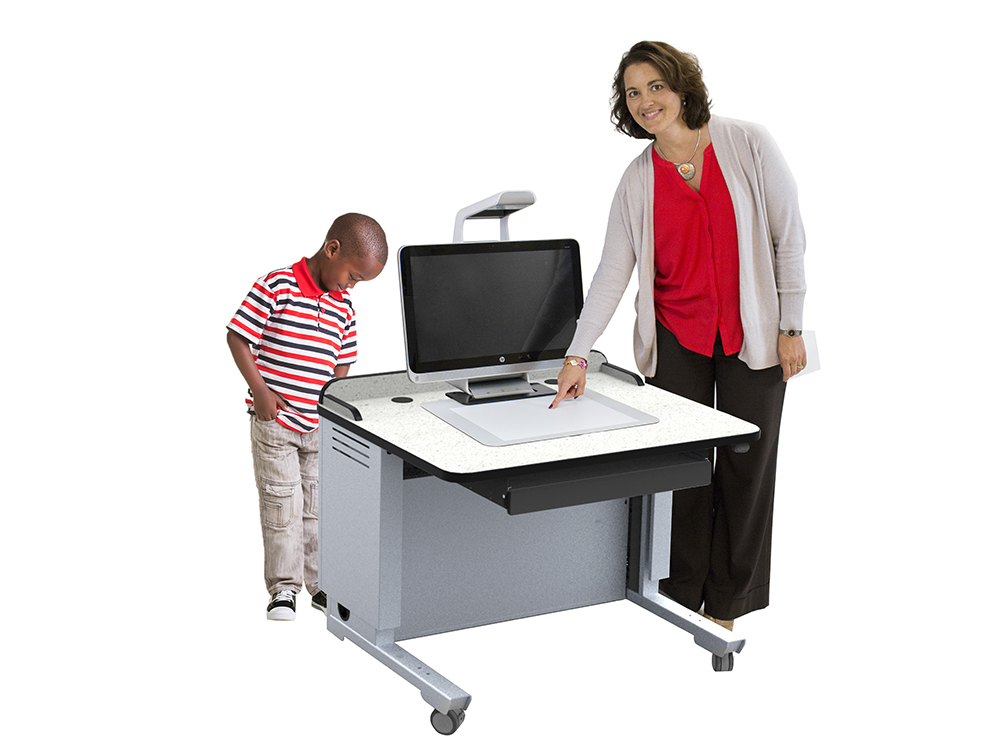 Freedom One eLift Workstation for Sprout Pro by HP
