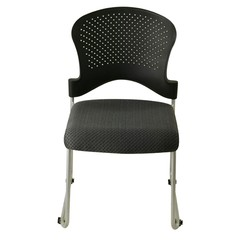 Stack 4.0 Stacking Chair w/ Upholstered Seat