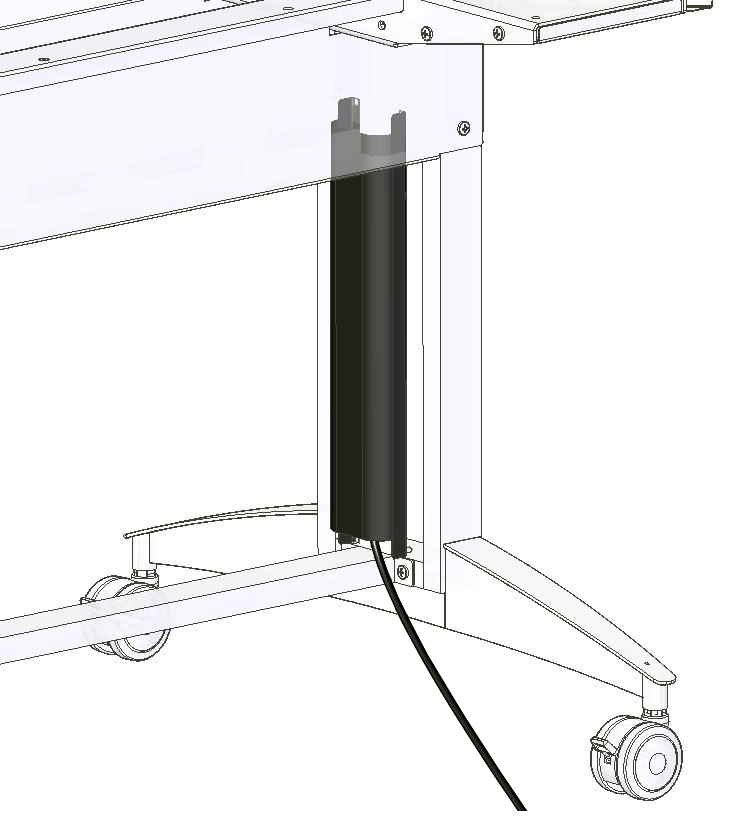 Cord Chase for Optio Table