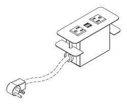 Cove Power Module (2 AC / 2 USB)