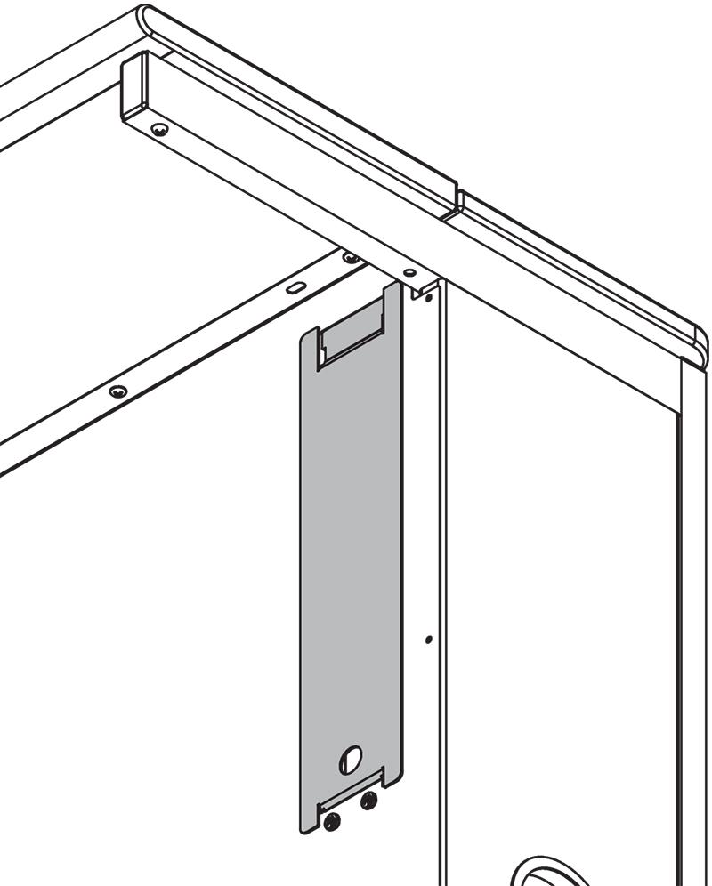 Cover Plate for Flex InSight Desk