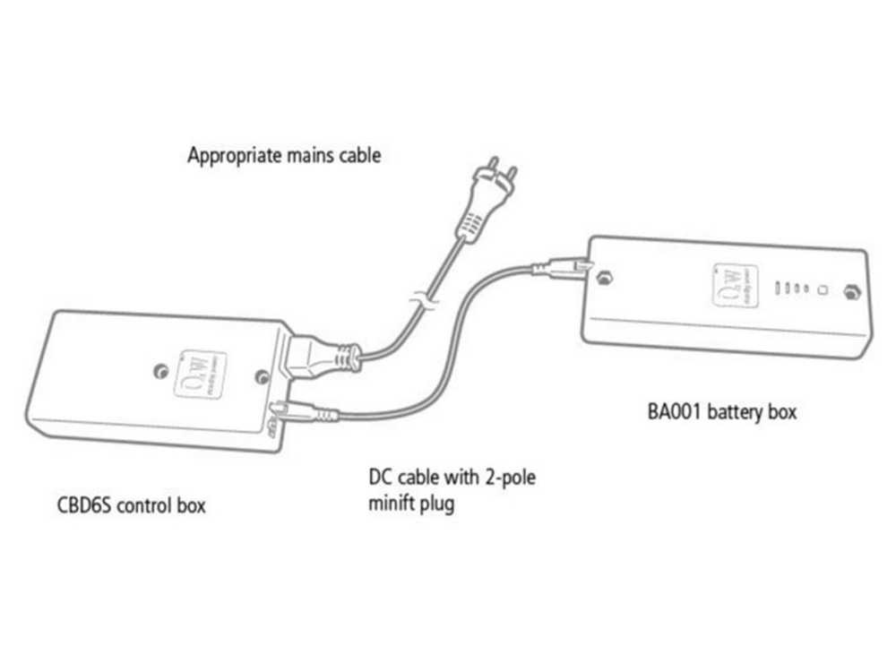 Rechargeable Battery Pack System (for Freedom One eLift)