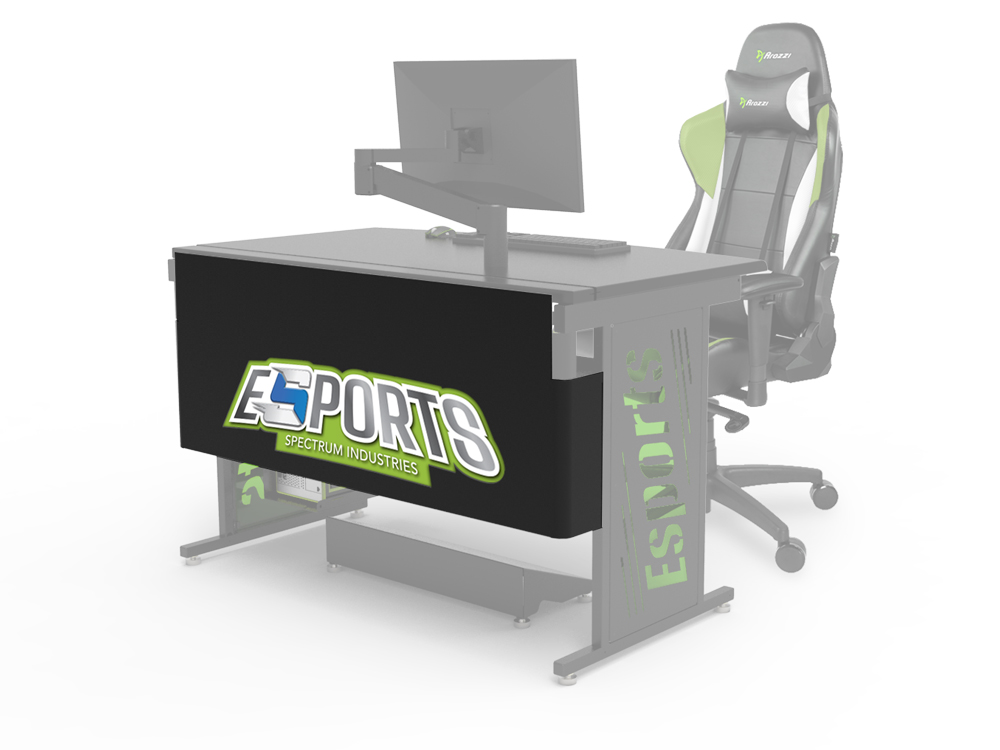 Esports Modesty Logo Panel with Printed Backer