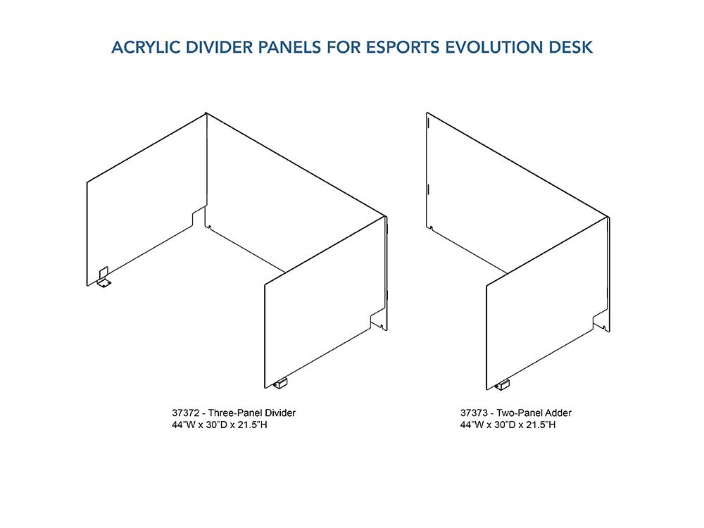 Acrylic Divider Panels