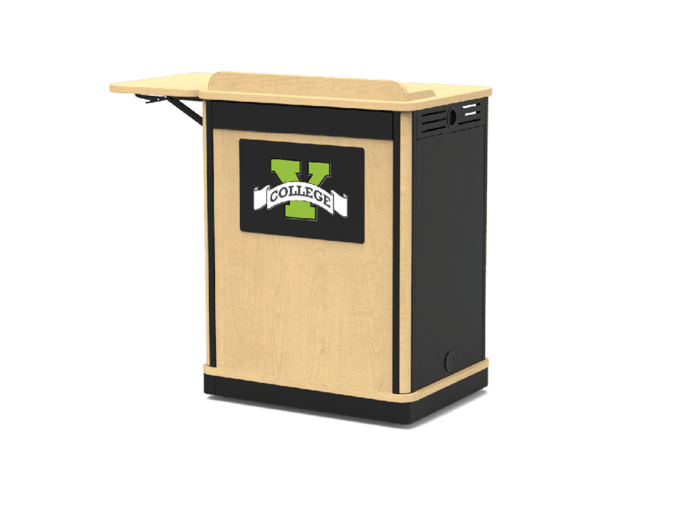 Compact Lectern - Media Manager Series