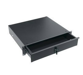 Rack-mount locking drawer 2RU