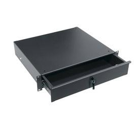Rack-mount locking drawer 2RU