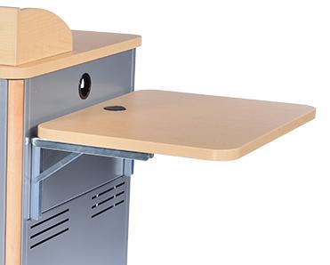 Flip-Up Shelf for Elite and Director Lectern