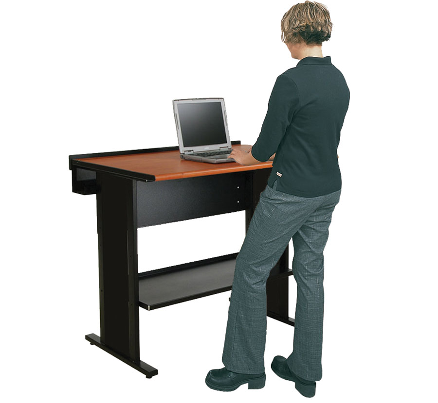 Stand Up Computer Desk Imovr Omega Olympus Adjustable