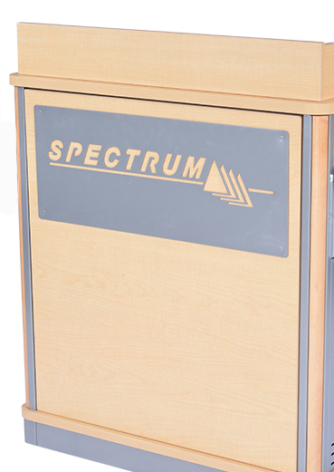Customized Logo Panel for Elite and Director Lecterns