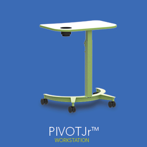 The Pivot Jr Workstation from Spectrum.