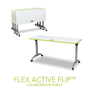 The NEW Flex Active Flip Table from Spectrum.