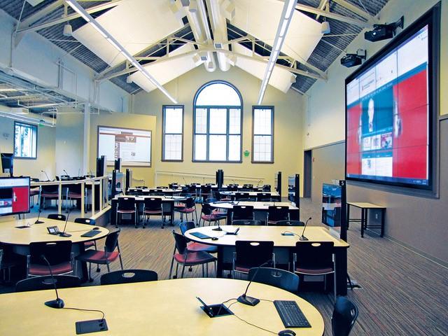 Indiana University using Spectrum tables