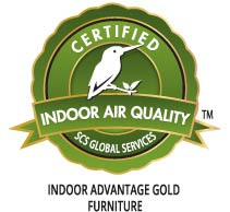 SCS indoor Advantage Gold Certification