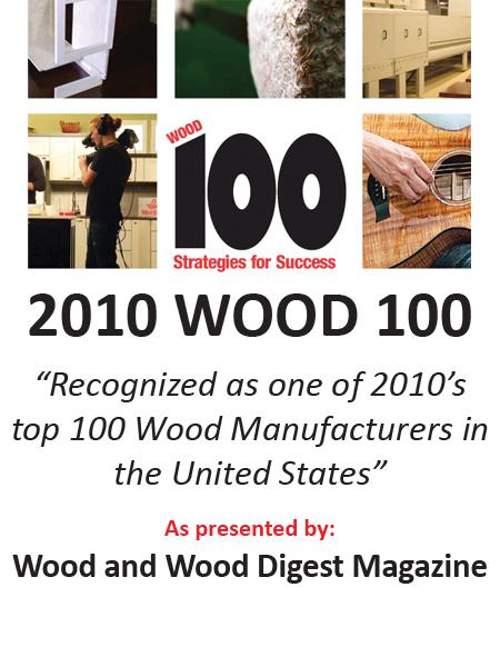 Wood 100 award